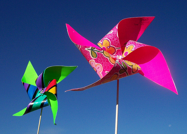 Ветряная мельница детская игрушка своими руками 34