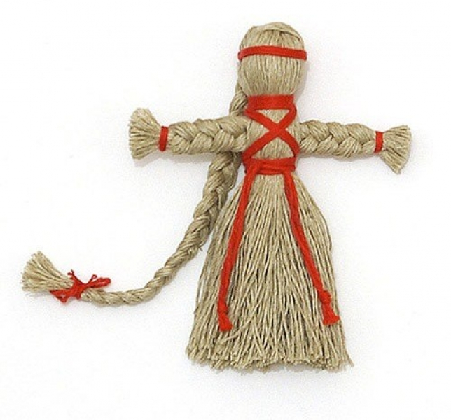 Как сделать из ниток куклу своими руками